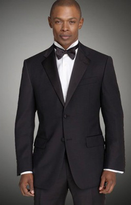Broletto Black Wool Wedding Suit